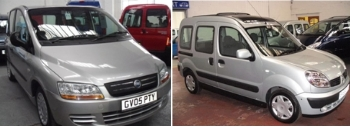 Used disabled adapted vehicles.